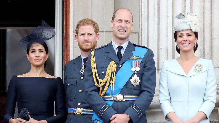 William und Kate vs. Harry und Meghan: Wer ist beliebter?
