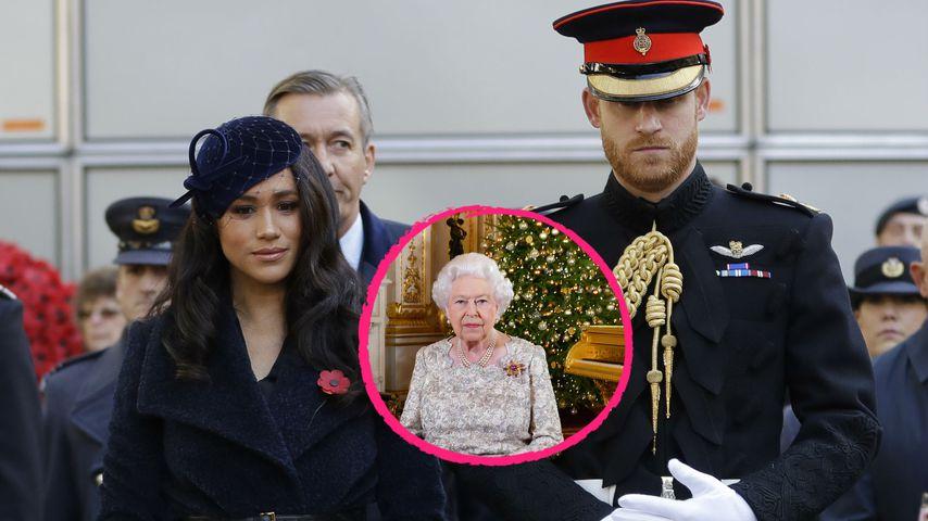 Feiern Harry und Meghan Weihnachten nicht mit der Queen?
