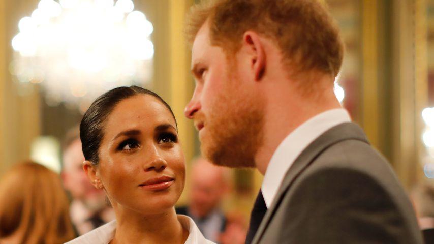 Herzogin Meghan und Prinz Harry in London 2019
