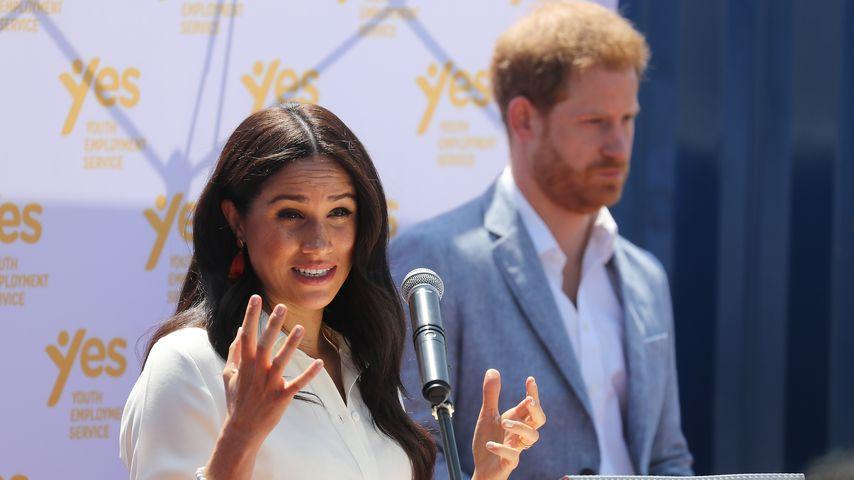 Herzogin Meghan und Prinz Harry, Oktober 2019