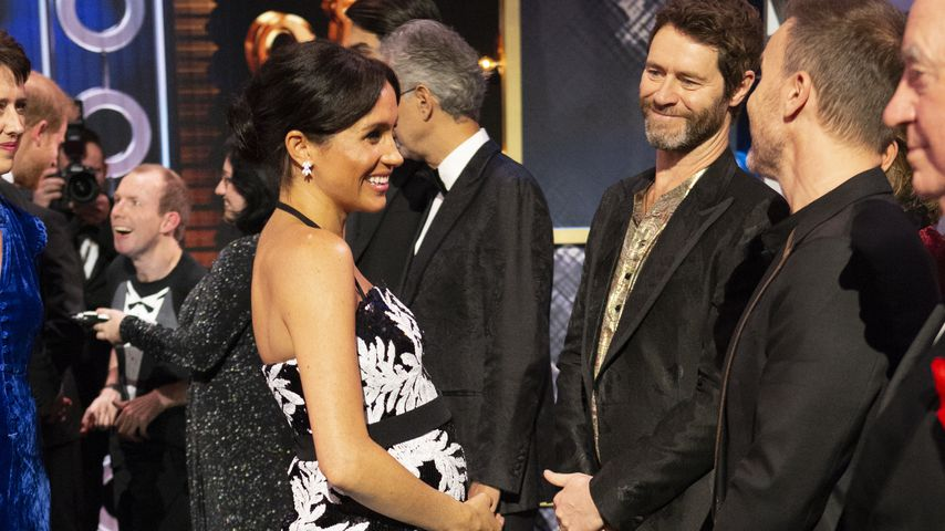 Herzogin Meghan und Take That bei der Royal Variety Performance