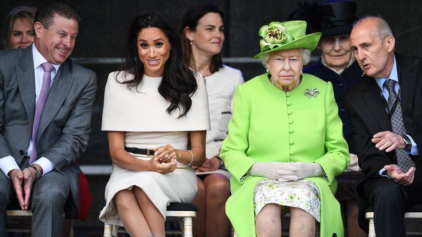 Ständiges Familien-Drama um Meghan: Ist die Queen genervt?