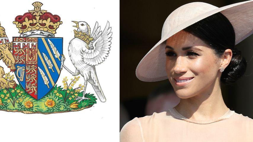 Herzogin Meghan: Die Bedeutung hinter ihrem eigenen Wappen