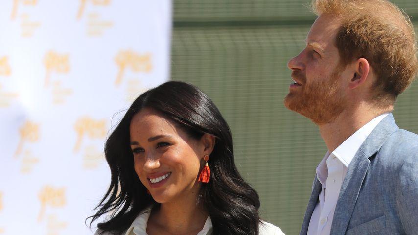 Herzogin Meghan und Prinz Harry 2019 in Südafrika