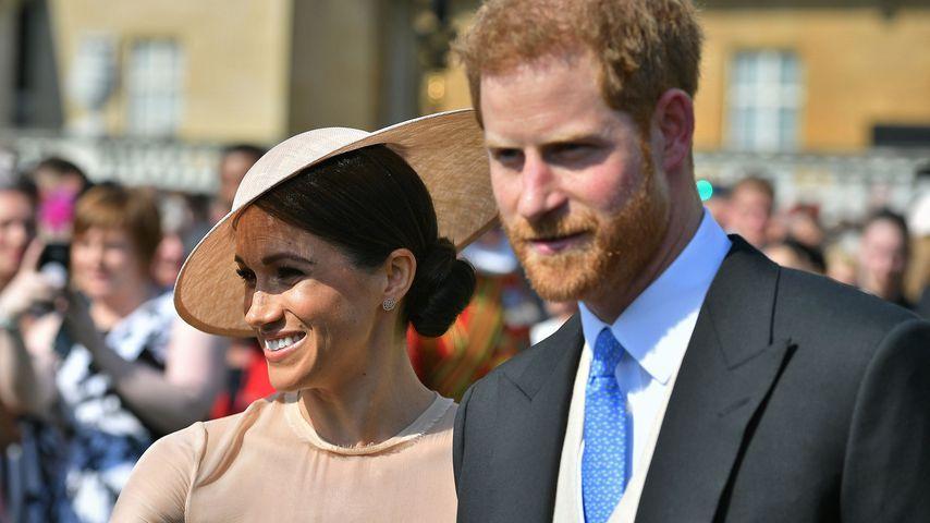 Herzogin Meghan und Prinz Harry bei der Geburtstagsfeier von Prinz Charles