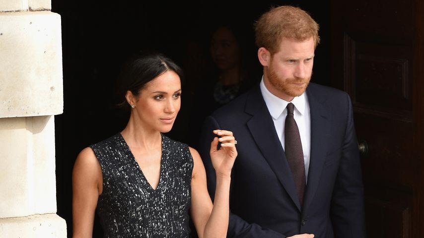 Herzogin Meghan und Prinz Harry in London, 2018