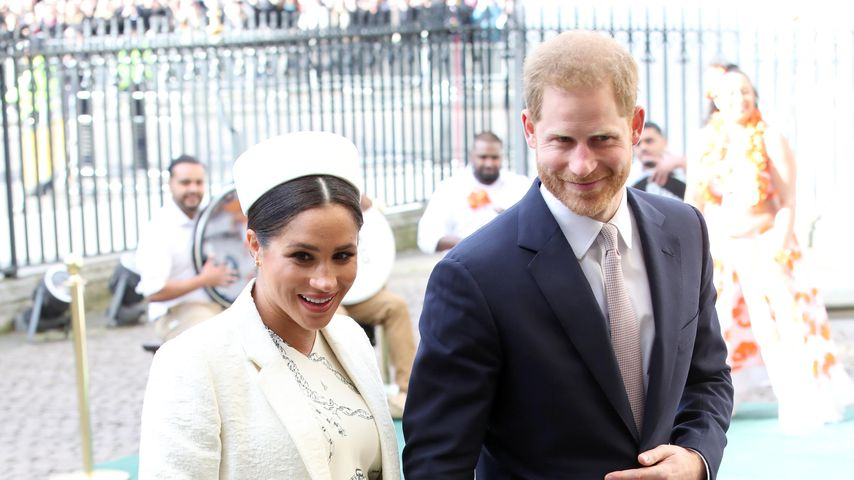 Herzogin Meghan und Prinz Harry am Commonwealth Day in London