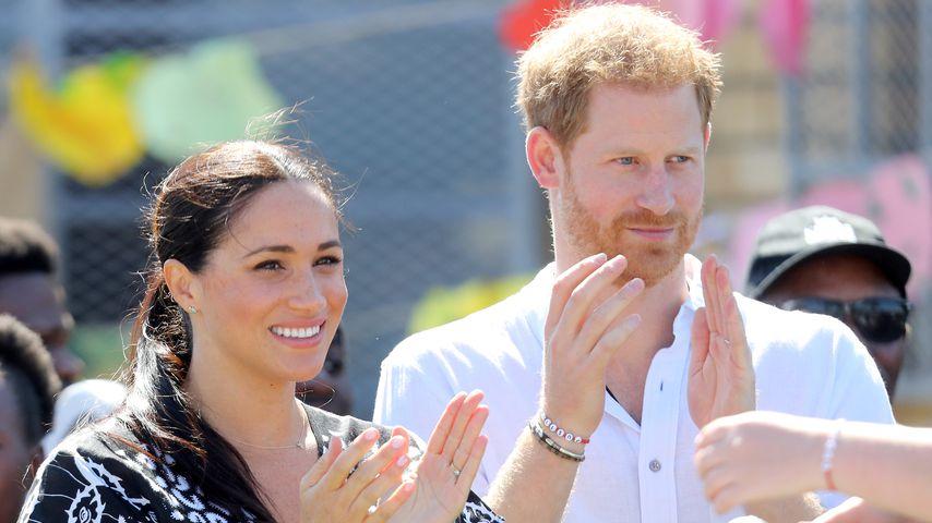Herzogin Meghan und Prinz Harry im September 2019 in Kapstadt