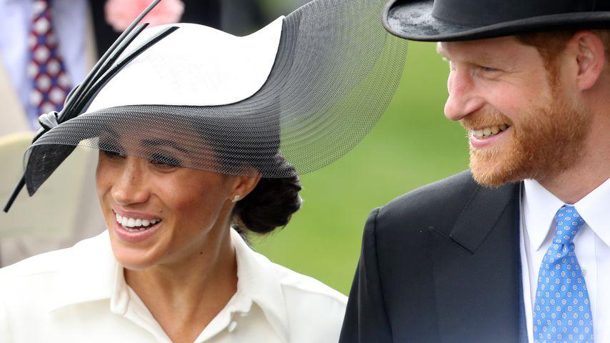 Herzogin Meghan und Prinz Harry in Ascot 2018