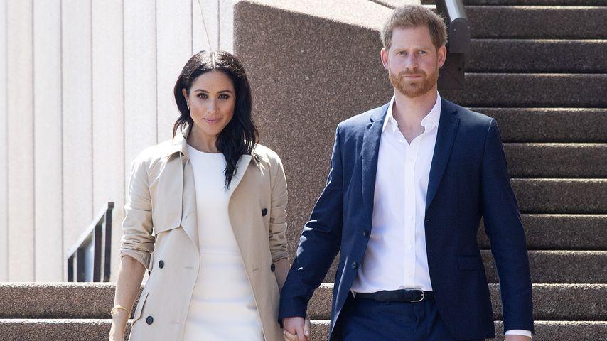 Herzogin Meghan und Prinz Harry in Sydney im Oktober 2018