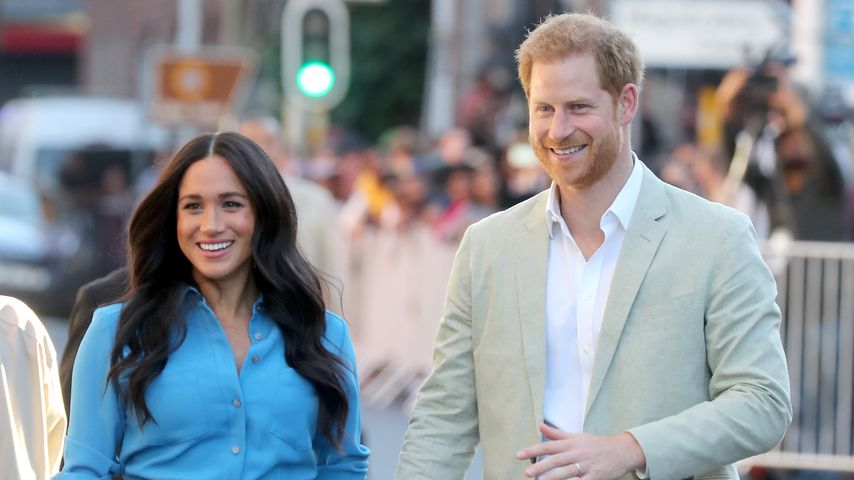 Herzogin Meghan und Prinz Harry in Kapstadt 2019