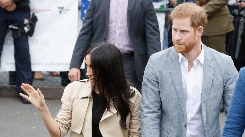 Herzogin Meghan und Prinz Harry in Melbourne im Oktober 2018