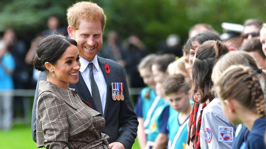 Kinder ergattern Selfie mit Herzogin Meghan & Prinz Harry