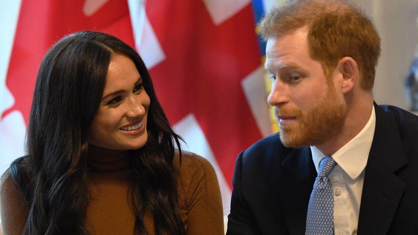 Herzogin Meghan und Prinz Harry im Januar 2020 in Kanada