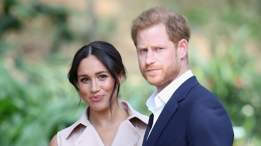 Herzogin Meghan und Prinz Harry im Oktober 2019