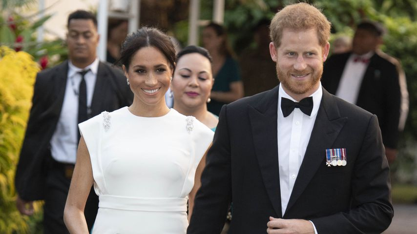Herzogin Meghan und Prinz Harry in Tonga 2018