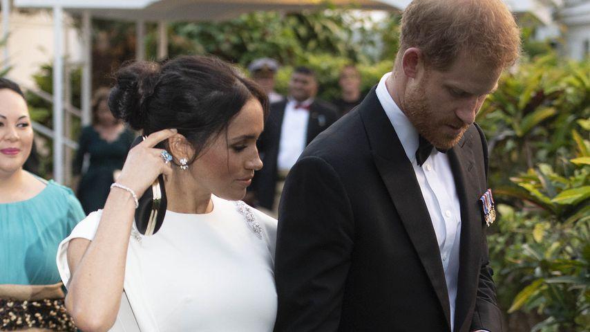 Herzogin Meghan und Prinz Harry zu Besuch auf Tonga