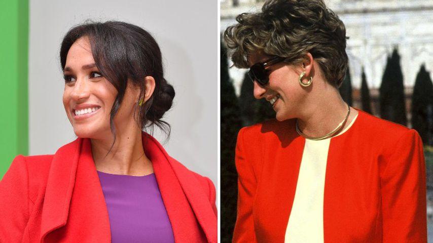Diese Looks von Herzogin Meghan trug auch schon Diana!