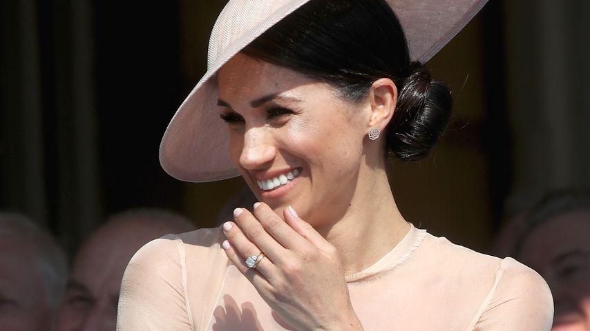 Schlichter geht's nicht: Herzogin Meghan zeigt ihren Ehering