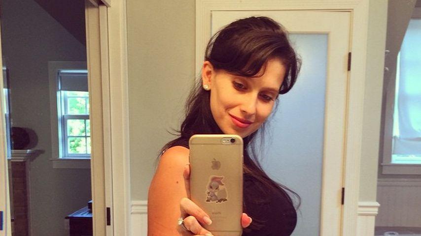Nach einer Woche: Hilaria Baldwins Baby-Bauch schrumpft