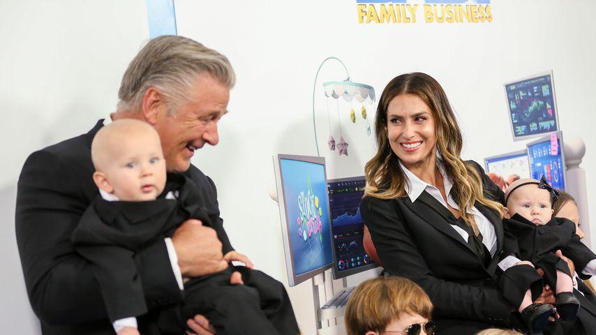 Hilaria und Alec Baldwin mit ihren Kindern