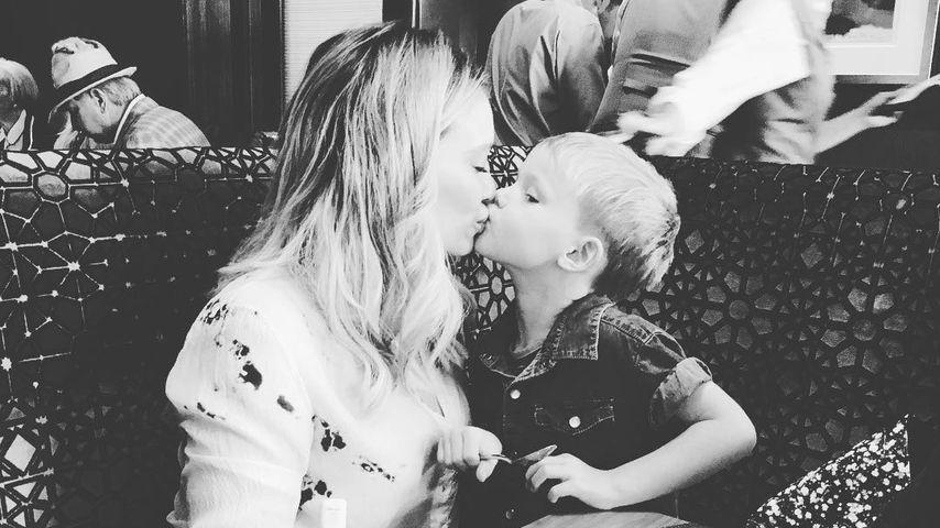 Süßes Gesangs-Talent: Hier singt Hilary Duffs Sohn Luca (4)