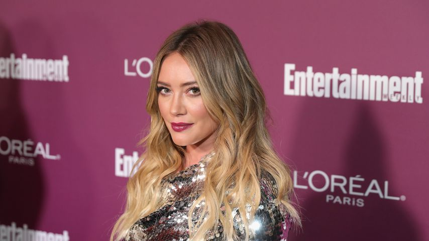 Hilary Duff bei einer Emmy-Party