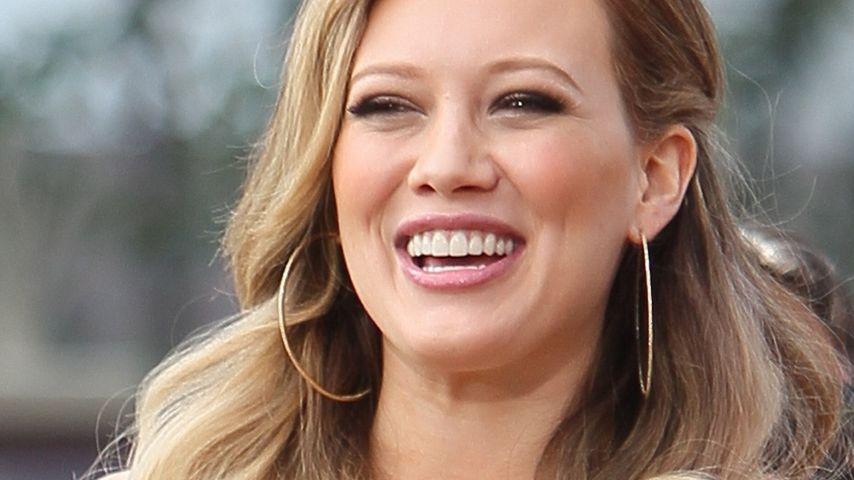 Hilary Duff: Sohn Luca hält sie schön auf Trab