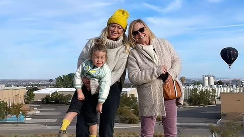 Hilary Duff mit Tochter Banks Violet und Mutter Susan