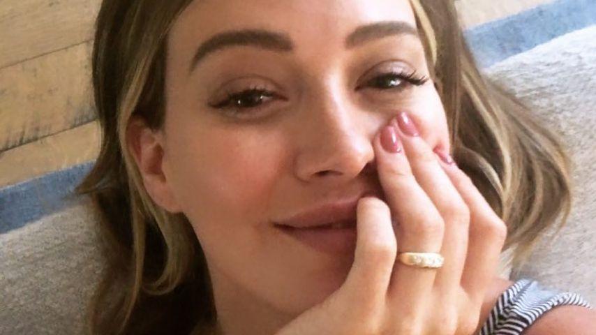 Verdächtiger Ring: Hat sich Bald-Mama Hilary Duff verlobt?