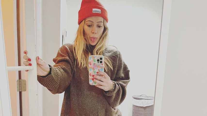Hochschwangere Hilary Duff hat ein kleines Schuhproblem!