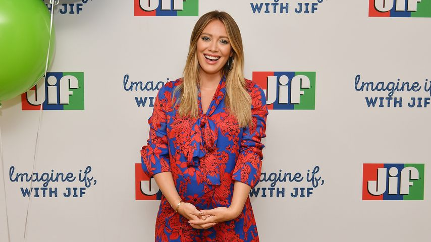 Hilary Duff in New York City
