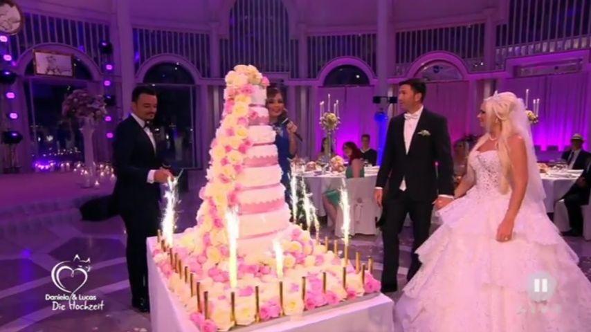 Meterhohe Zuckerbombe: Das ist Danis & Lucas' Torte!