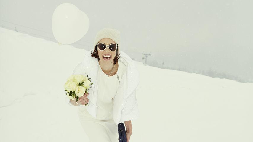 Braut im Schnee: So schön heiratete Jasmin Wagner