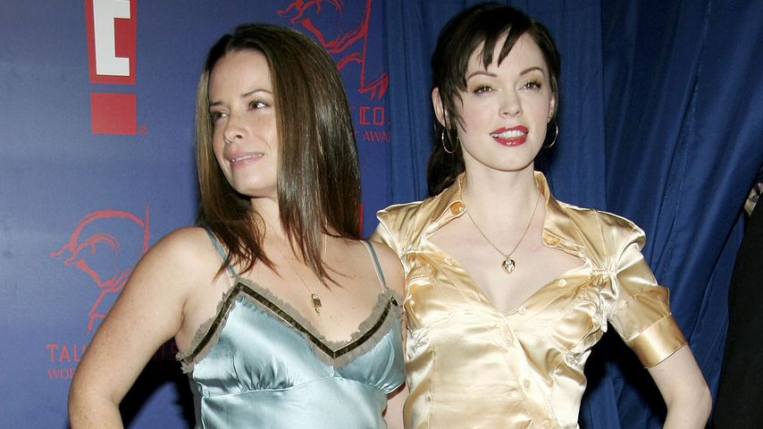 Holly Marie Combs und Rose McGowan, 2005