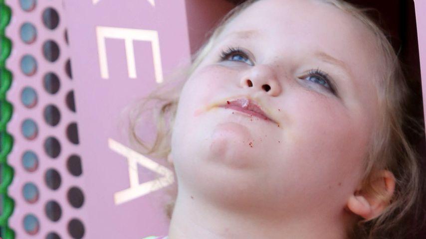 Honey Boo Boo hängt unter Cupcake-Automat!
