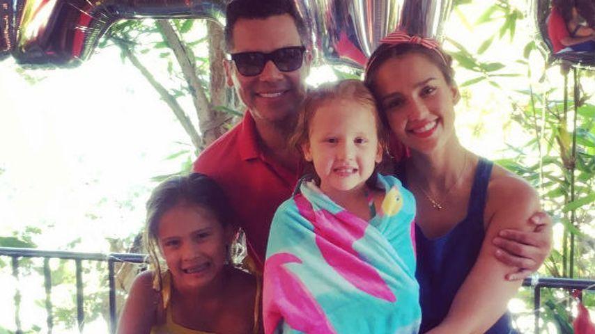Wassermelonen-Party: Jessica Albas Tochter Haven wird 5