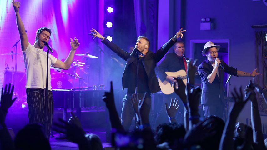 Benefiz-Konzert in Manchester: Take That holt Robbie zurück!