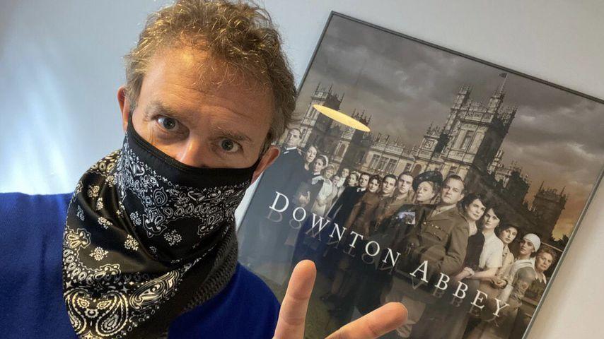 Schauspieler Hugh Bonneville im April 2021