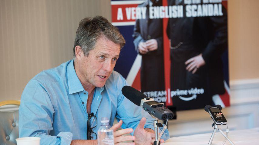 """Ehrlicher Papa: Hugh Grant nennt seine Kinder """"talentfrei"""""""