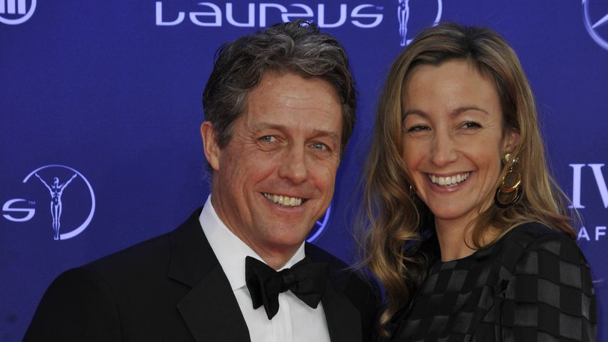 Hugh Grant und Anna Eberstein bei den Laureus World Sports Awards in Monaco