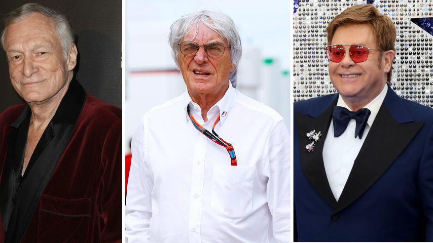 Wie Bernie Ecclestone (89): Das sind die ältesten Promi-Dads