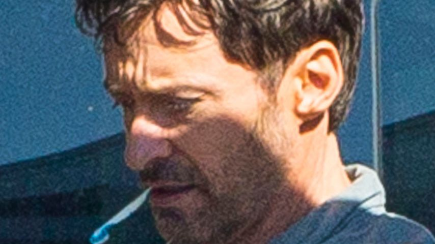 "Hugh Jackman am Set von ""Reminiscence"" in Louisiana"