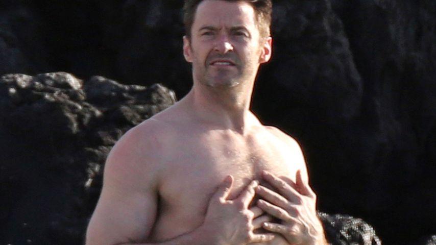 Auf Hawaii: Hugh Jackman zeigt seinen gestählten Beach-Body