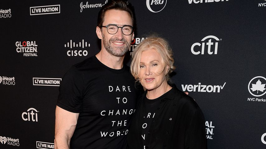 Hugh Jackman und Deborra-Lee Furness beim Global Citizen Festival, 2019