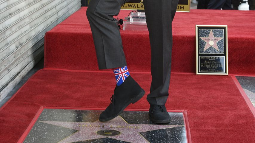 In England-Socken: Dr. House erhält endlich Hollywood-Stern!