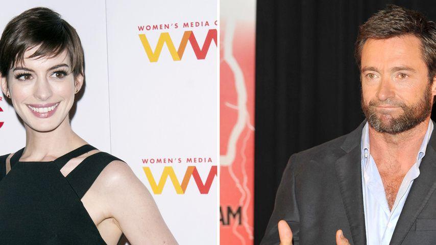 Hugh Jackman: Anne Hathaway hat den Oscar verdient