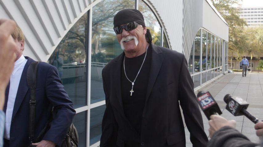Hulk Hogan vor dem Gericht in St. Petersburg, Florida