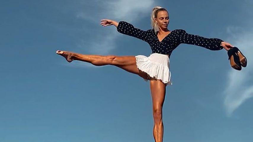 1,12 Meter! Sind das die längsten Model-Beine auf Instagram?