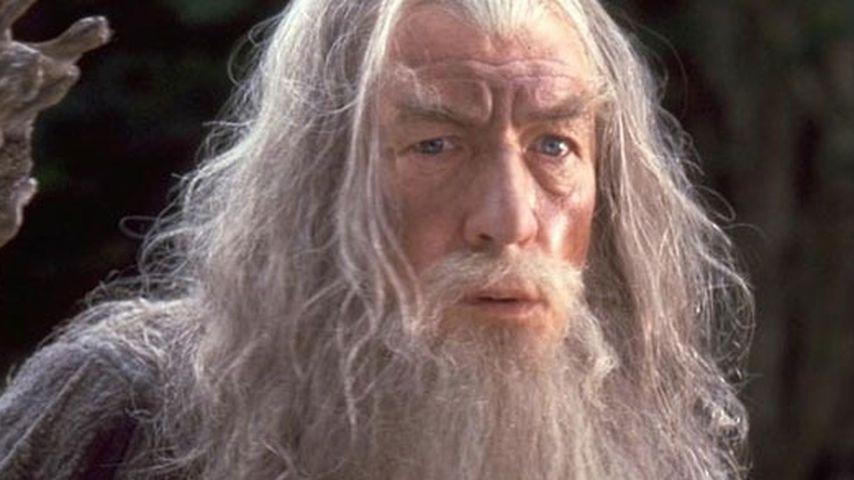 Ian McKellen als Gandalf der Graue
